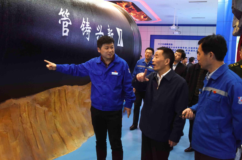 副市长贺东来公司检查安全生产工作