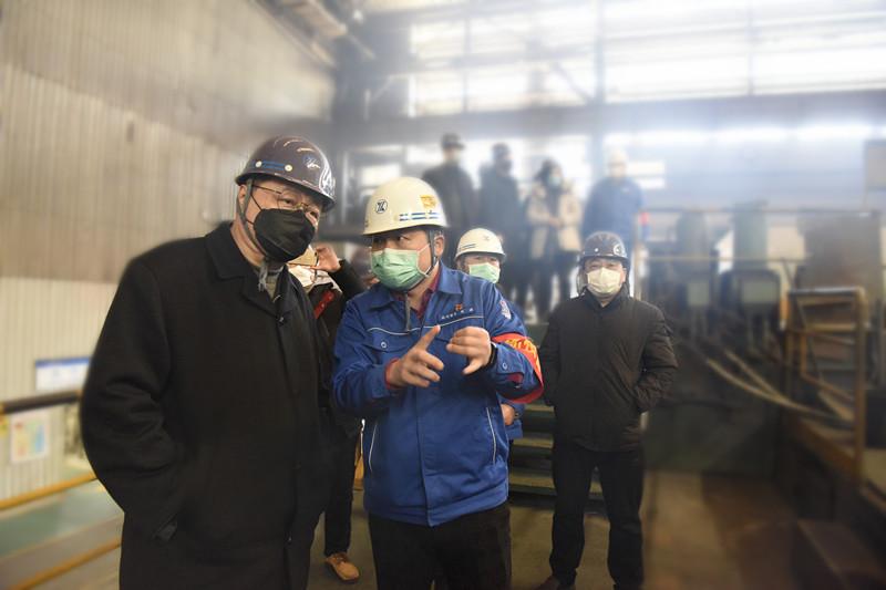 贺懋燮市长督导检查芜湖新兴贵州11选5走势图表疫情防控工